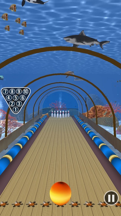 Amazing Bowling Paradise screenshot-3
