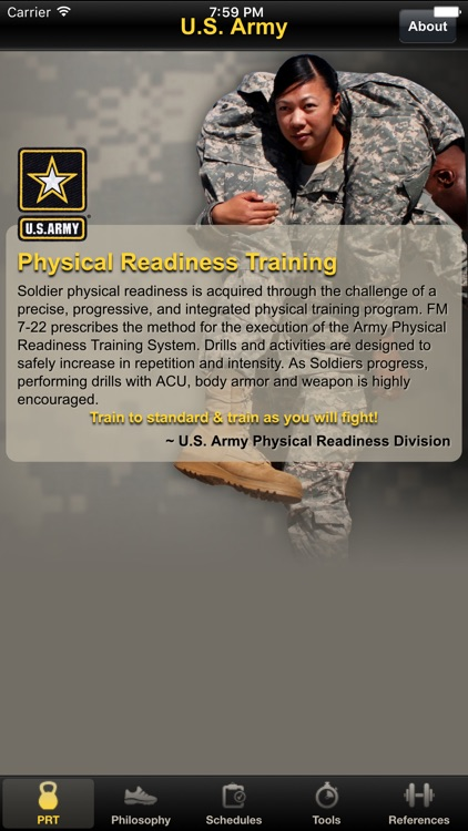 APFT Calculator - Army Physical Fitness PRT by mani Ghasemlou