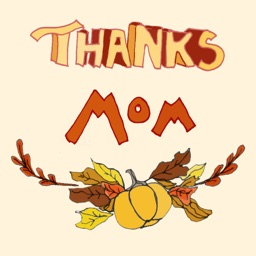 Thanksgiving Mom Stickers