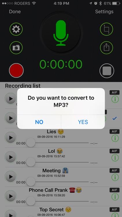 Automatic Voice Recorder Pro - AVR Record screenshot-3