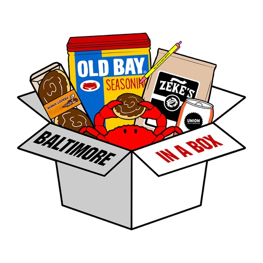 Baltimore Stickers by Baltimore in a Box