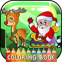Christmas Coloring Book Free For Kids And Toddlers