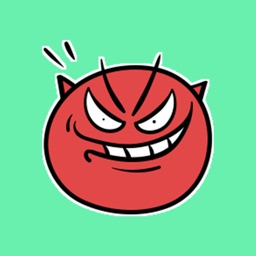 Demon Emoticons Animated Stickers