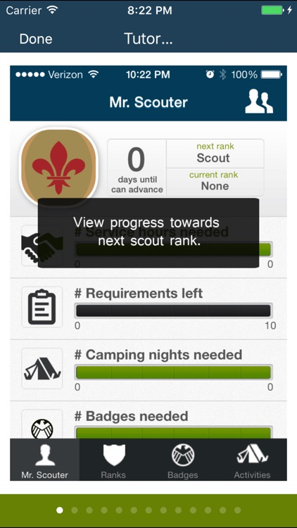 The Scout App for boys in Boy Scouts of America