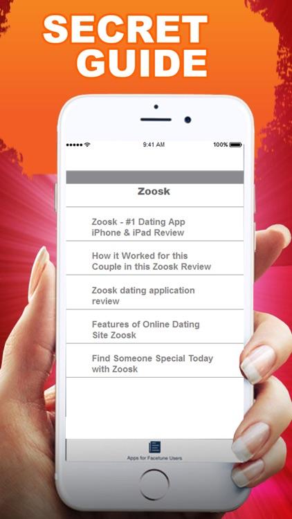 Zoosk dating app for BlackBerry