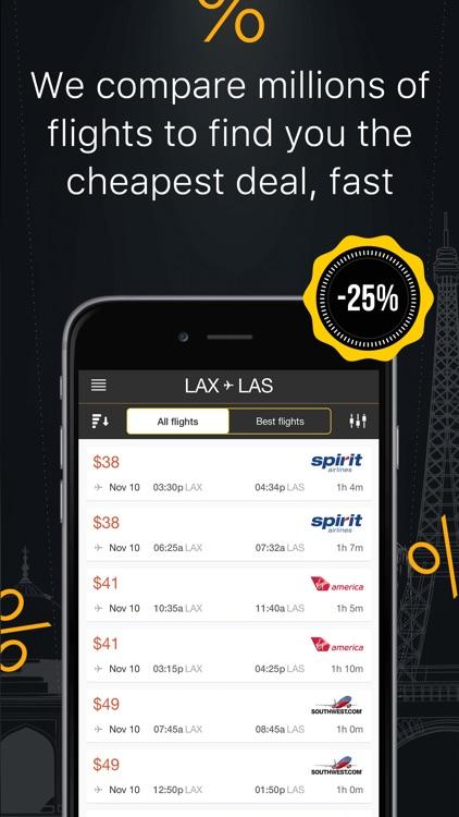 Cheap Flight Finder & Tickets screenshot-0