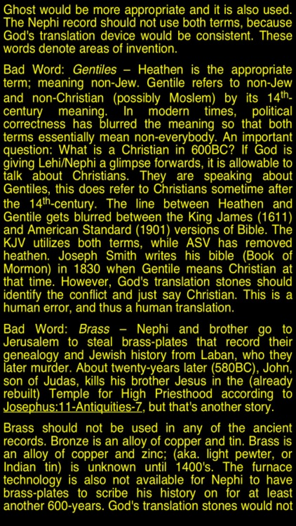 Summary Book of Mormon (part I) screenshot-3