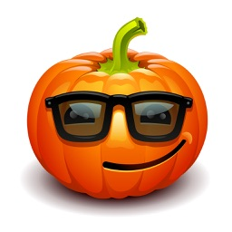 Pumpkin Happy Halloween Sticker