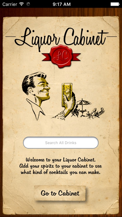 Liquor Cabinet - Cocktails & Drinks screenshot-0