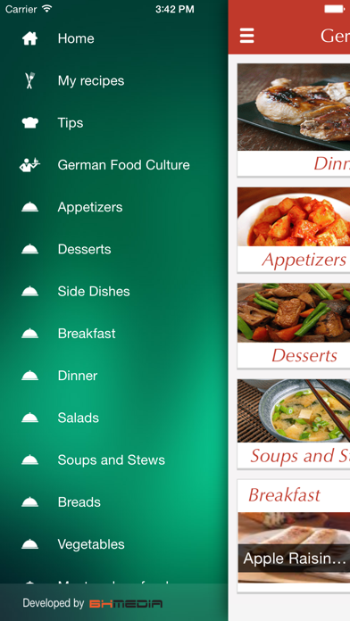 German Food Recipes - best cooking tips, ideas screenshot two