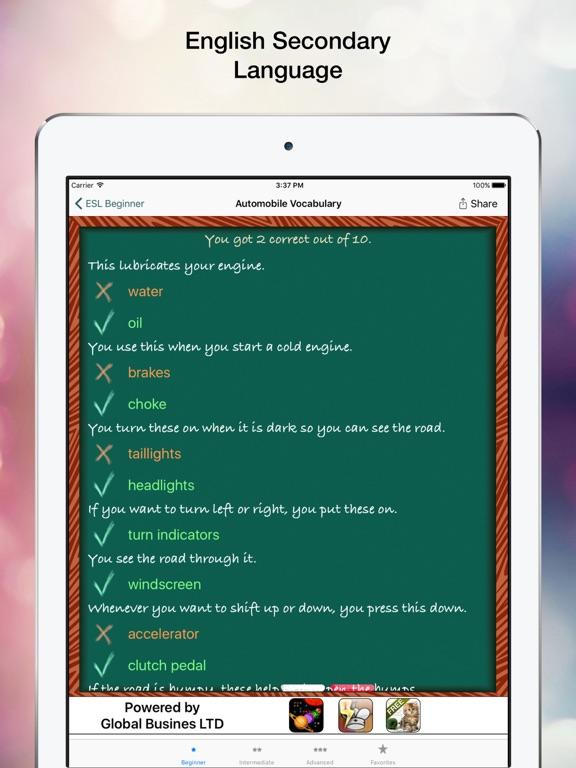 ESL Tests Скриншоты7