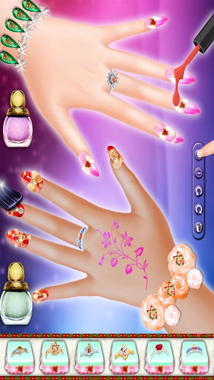 Christmas Nail Art Salon Manicure Designer Games By Pratik Parmar