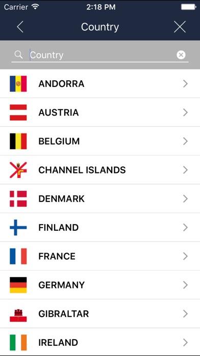 BringGo Western Europe Screenshots