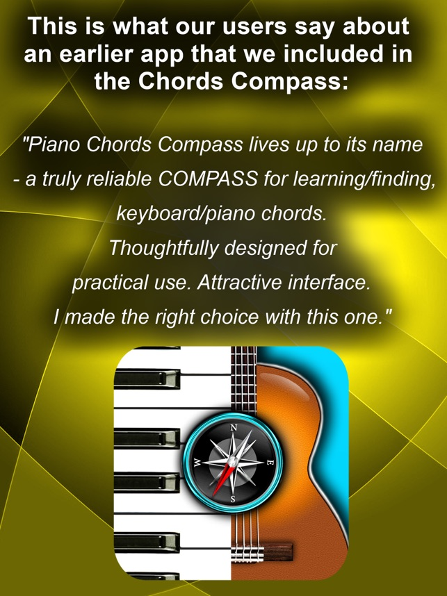 Chords Compass Find Piano Guitar Chords More On The App Store