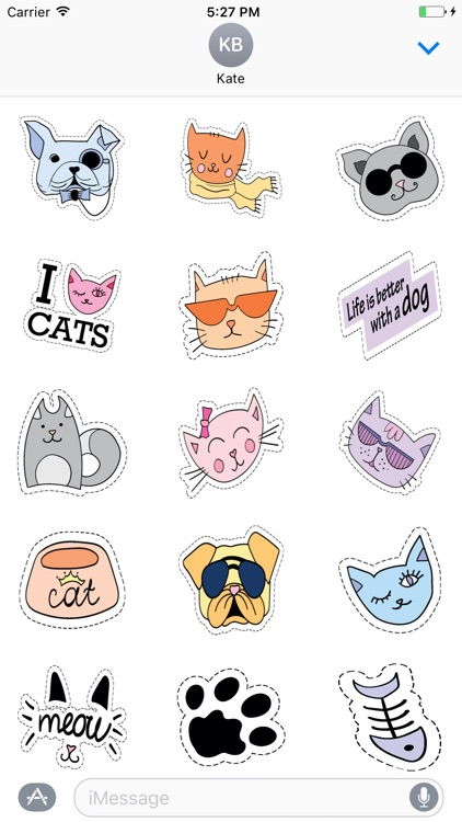 Cats and Dogs : Fashion Patches