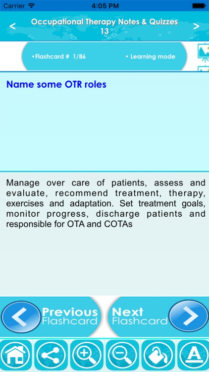 Occupational Therapy Exam Review : Quiz & Concepts