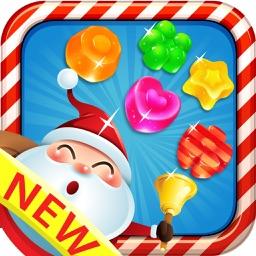 Sweet Santa Crafty - Christmas candy gems puzzle