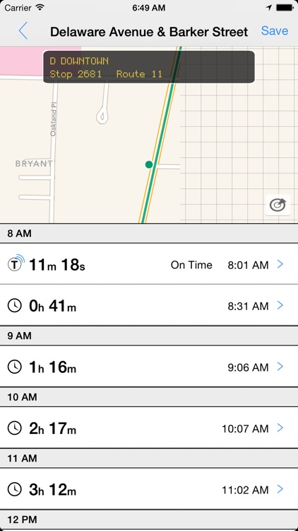 Transit Tracker - Buffalo (NFTA)