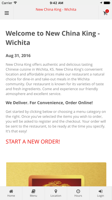 New China King Wichita Online Ordering App Download