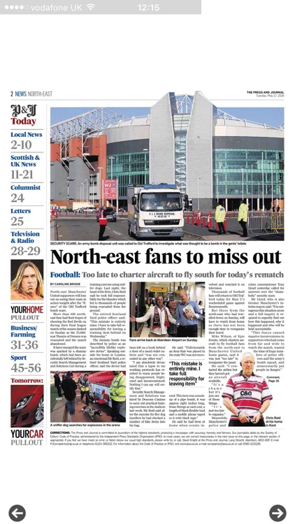 Press And Journal North East