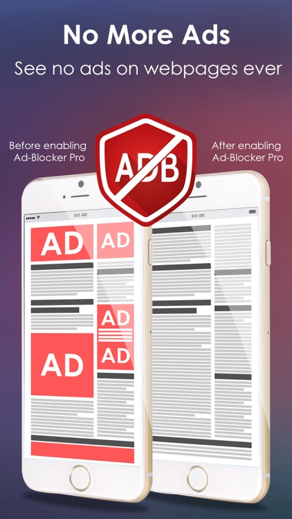 Ad-Blocker Pro screenshot-1