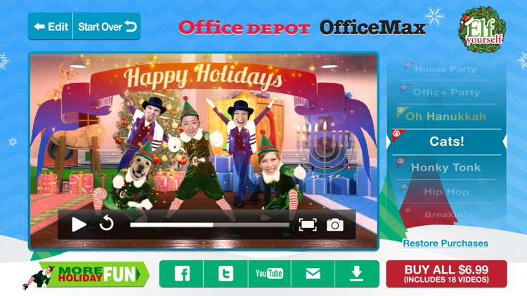 ElfYourself by Office Depot, Inc. screenshot-3