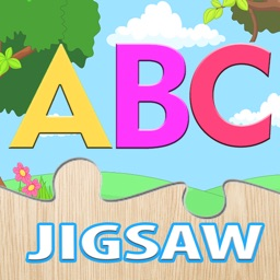 ABC Jigsaw Puzzle for Kids Alphabet & Animals Cute