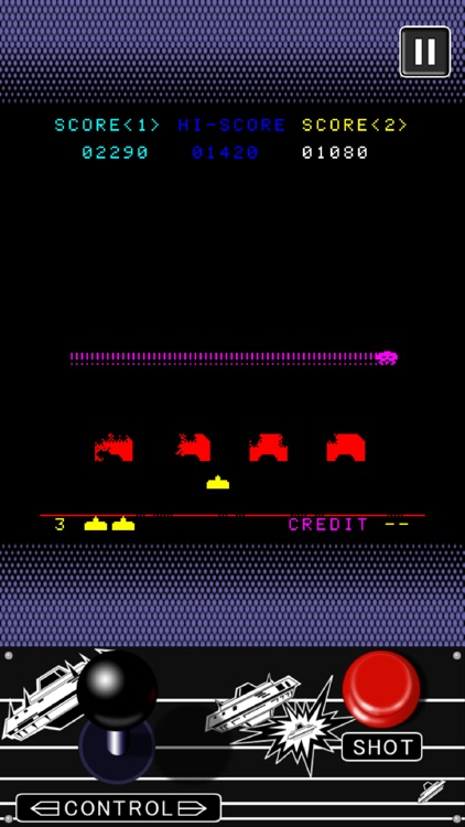 SPACE INVADERS screenshot-3