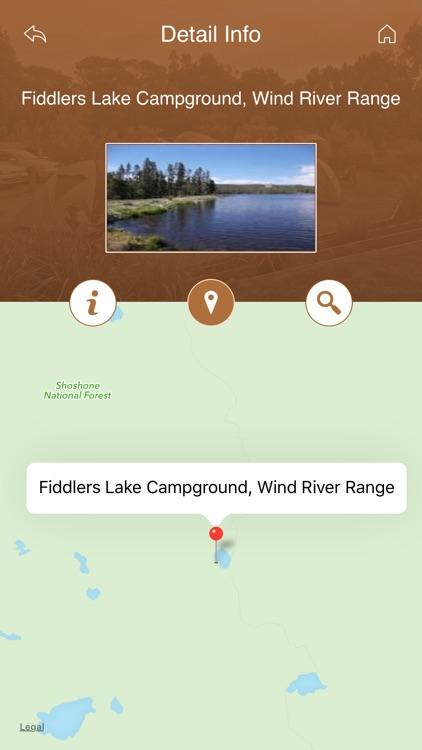 Wyoming Camping and RV Parks screenshot-3