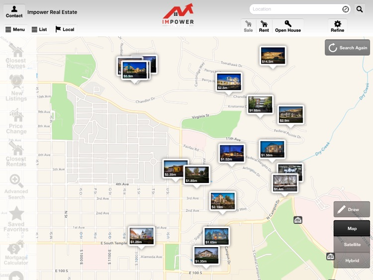 IMPOWER Real Estate for iPad screenshot-0