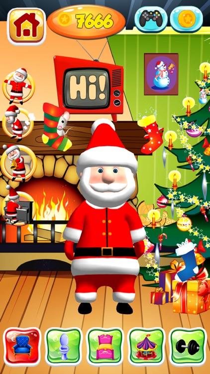 Talking Santa Claus Game