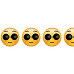 Cyclic rolling emoji