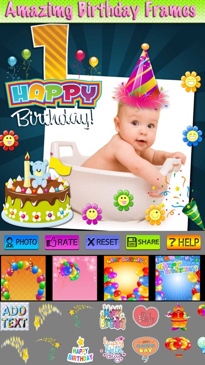 Happy Birthday Cards and Label