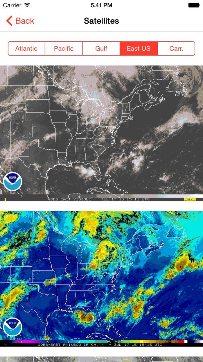 My Hurricane Tracker - Tornado & Hurricane Warning Screenshot