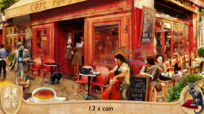 Hidden Objects: Romance with Chocolate - FREE Screenshot