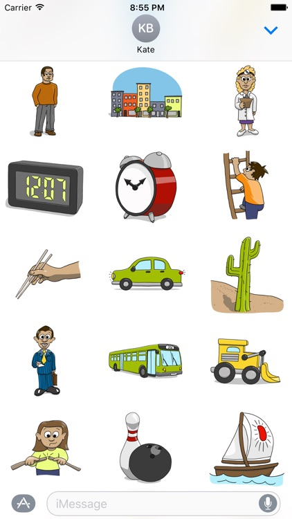 Stickertoons Life – Useful stickers for iMessage