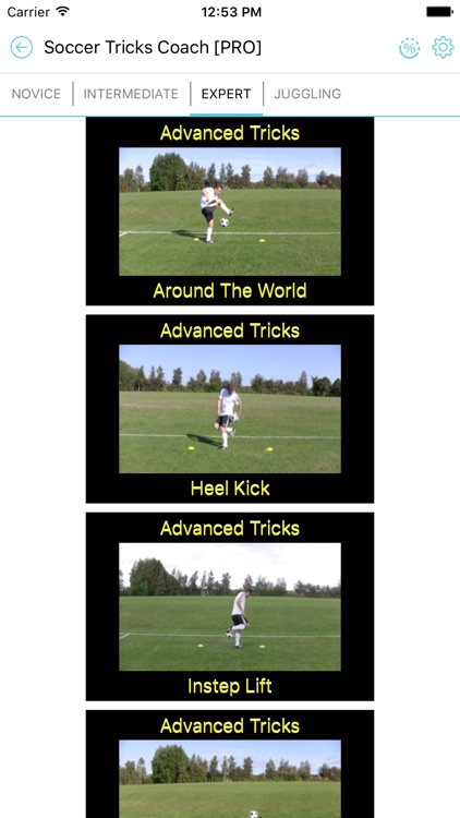 Soccer Tricks Drills & How to Play Soccer Coach screenshot-0
