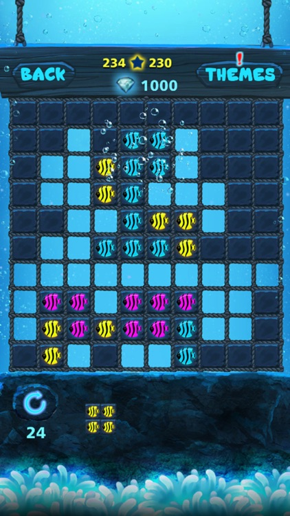 Block Puzzle: Ocean style,Popping bubbles screenshot-3