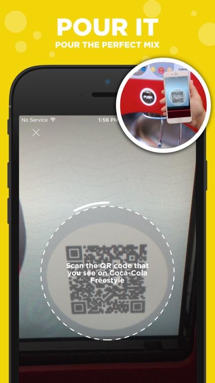 Coca-Cola Freestyle: discover & create drink mixes screenshot-3