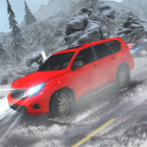 Снег - вождение симулятор 3D игра водитель Прадо 4