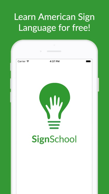 SignSchool - Learn American Sign Language for Free