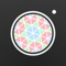 Create awesome kaleidoscopic works of art with this photography app