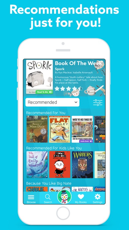 Epic! - Unlimited Books for Kids app image
