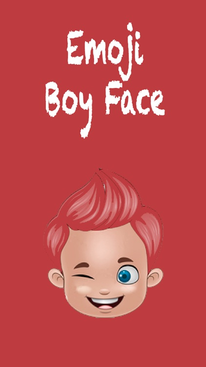 Boy Face Emoji - Sticker