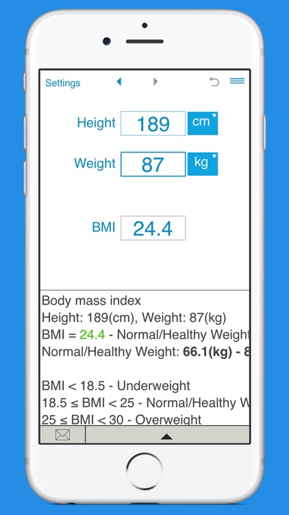 Smart BMI Calculator screenshot-2