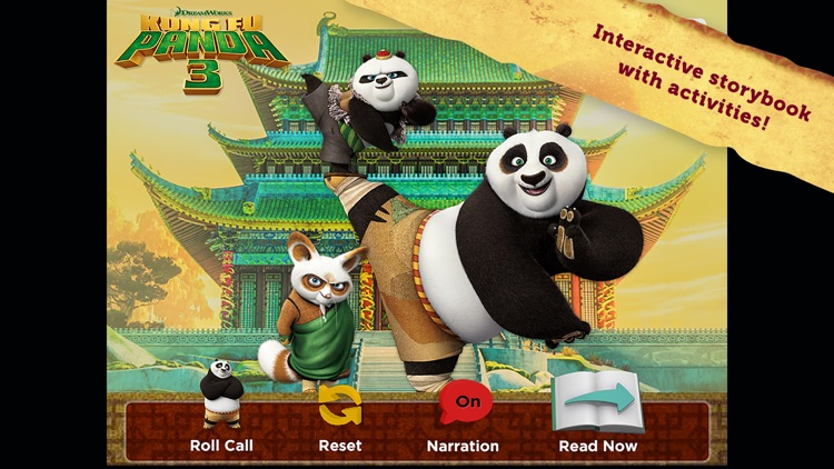 Kung Fu Panda 3: Interactive Storybook screenshot-0