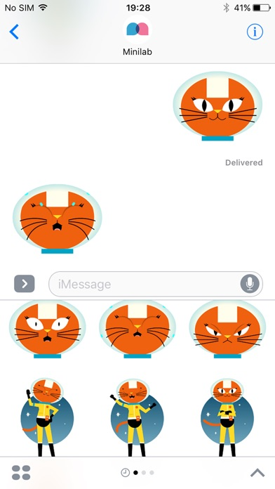Astro Cat Stickersのスクリーンショット2