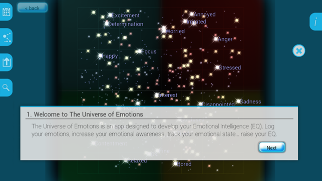 ‎Universe of Emotions