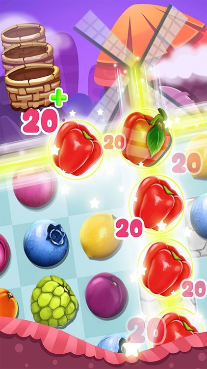 Farm Fruit Panda New Best Match 3 Puzzle Game 2017 screenshot-4