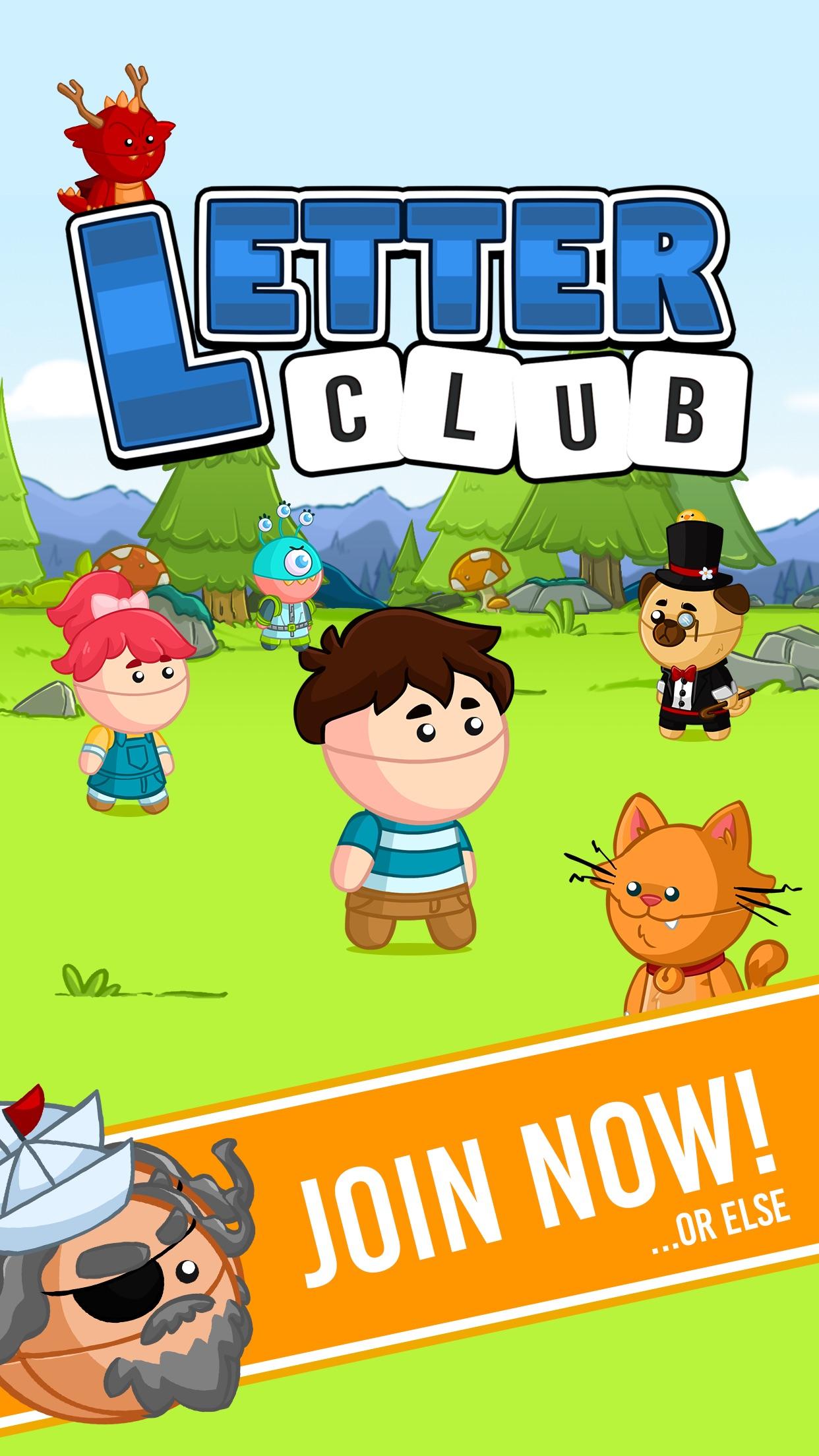 Letter Club Screenshot